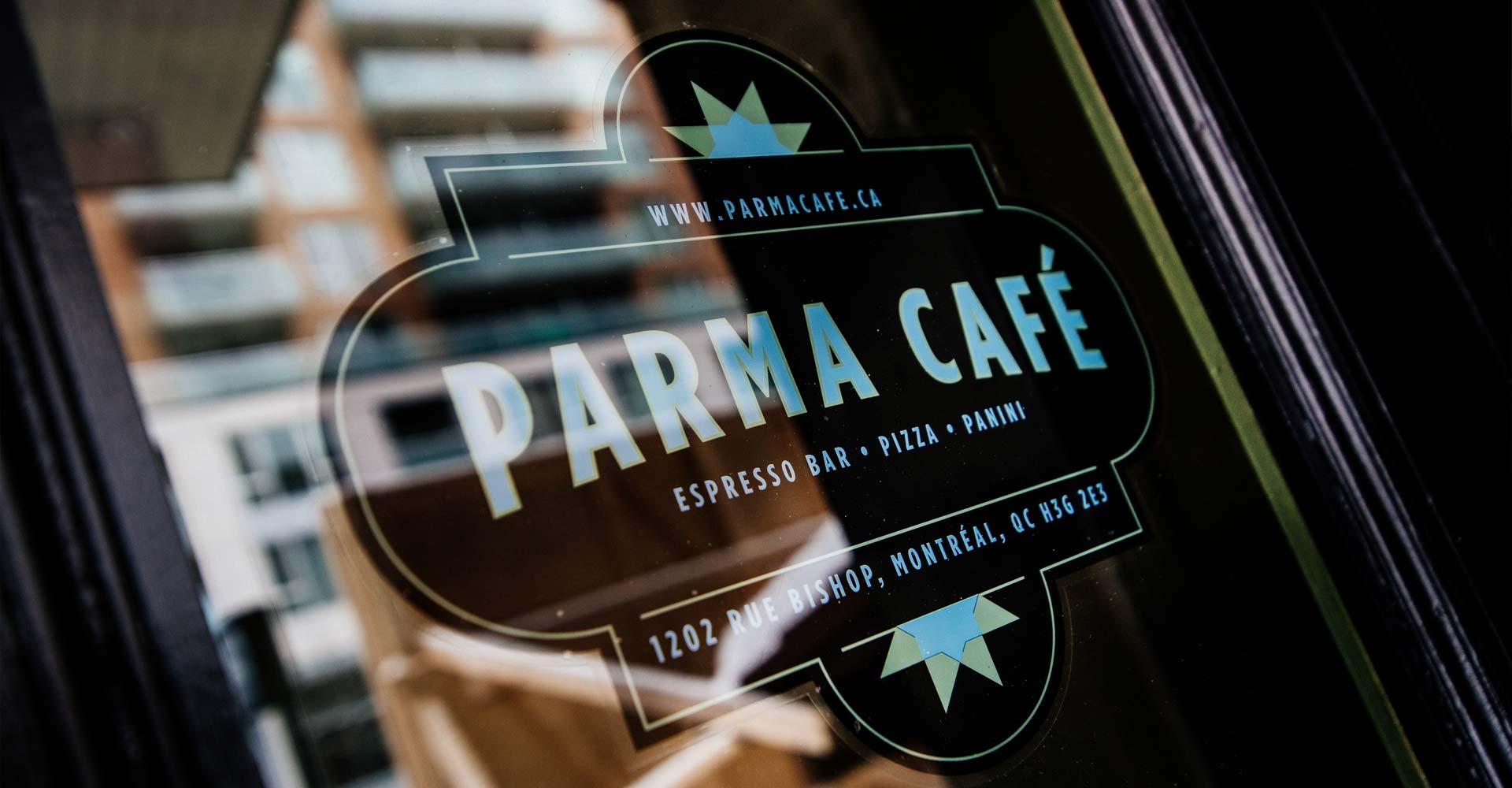 Contact Parma Cafe 8 En
