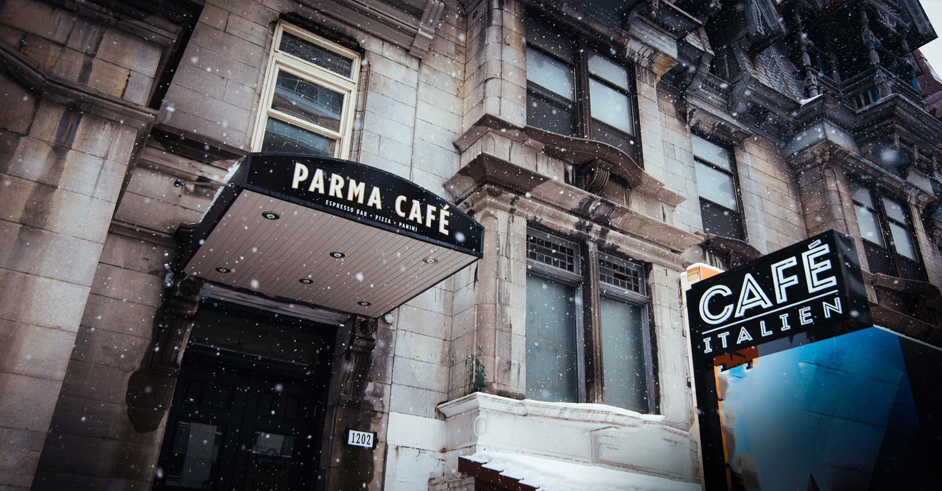 Contact Parma Cafe 9 En